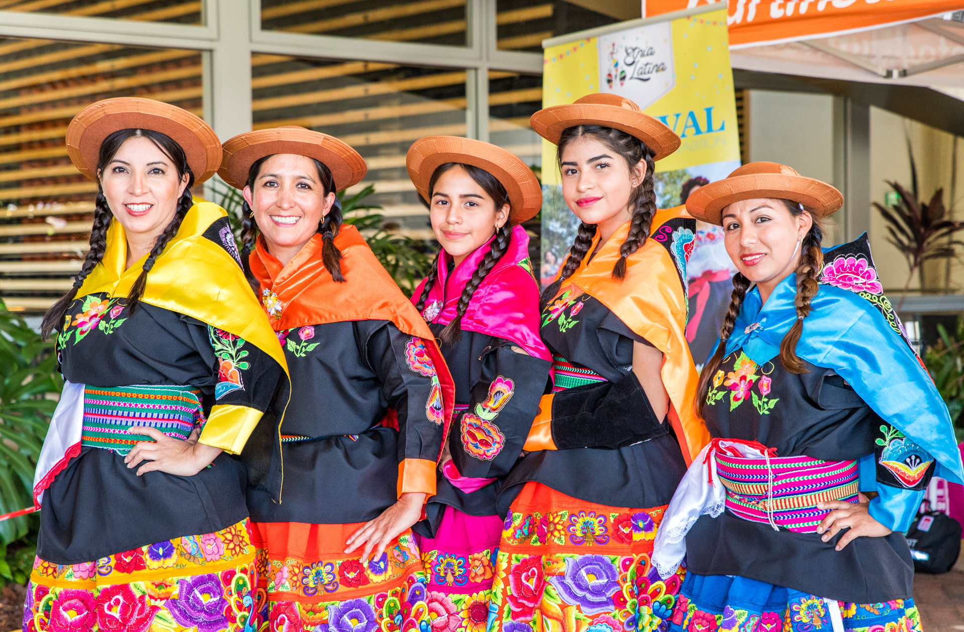 Dancers at Etnia Latina Festival