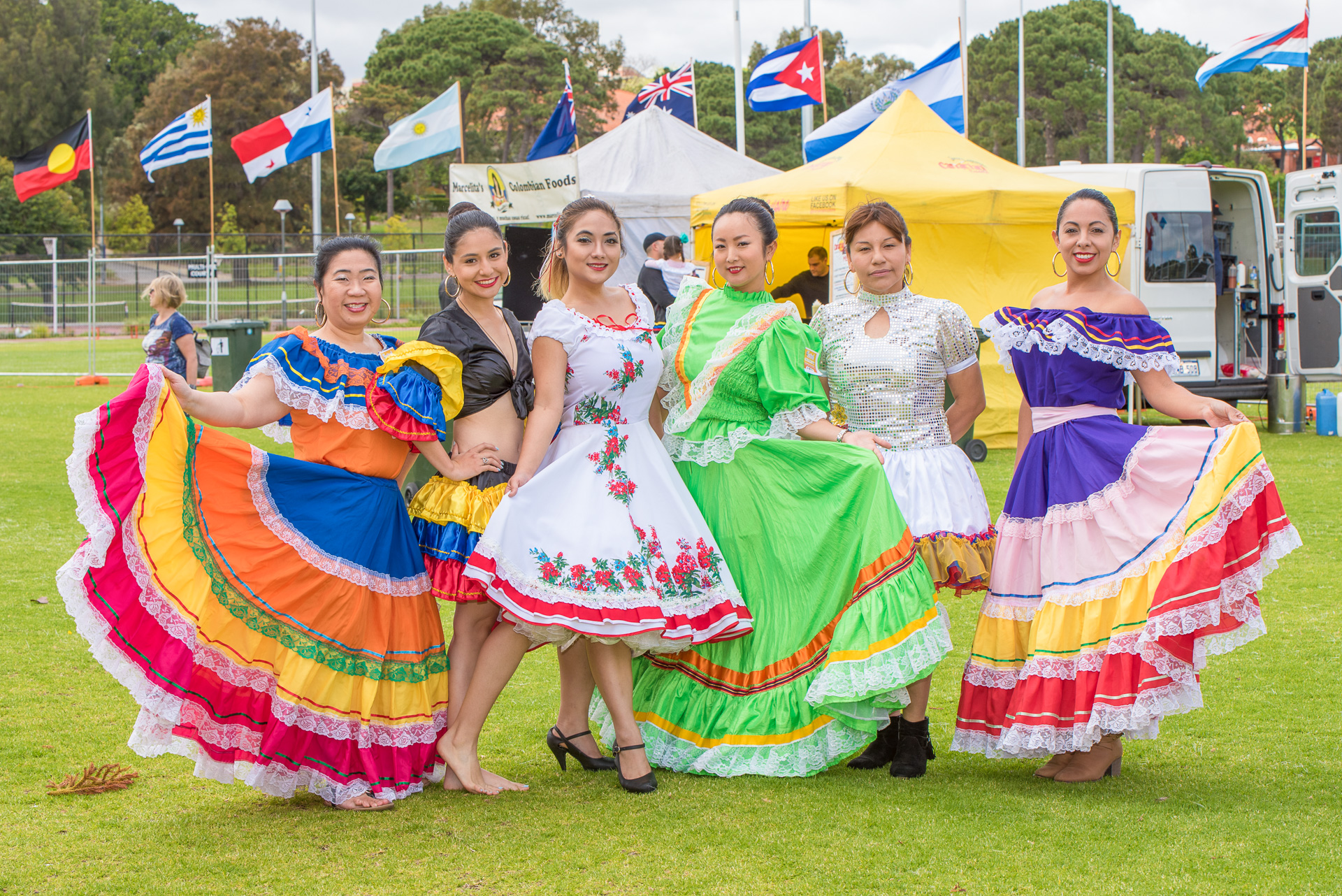 South American Dancers at Festival